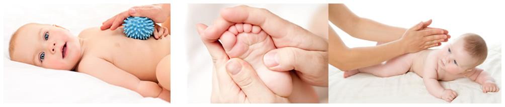 Massagem a Bebés